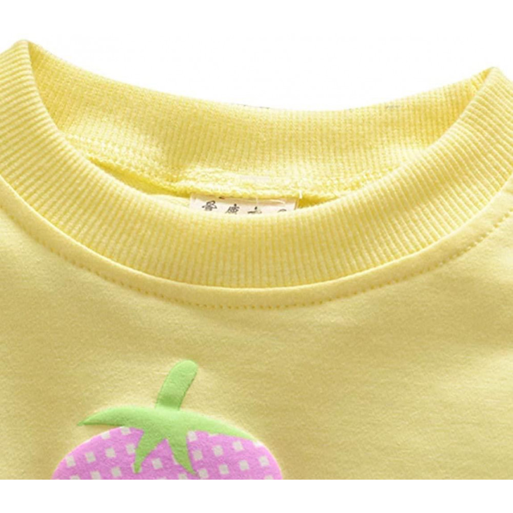 Yellow Baby Toddler Girl Spring,Fall Pullover