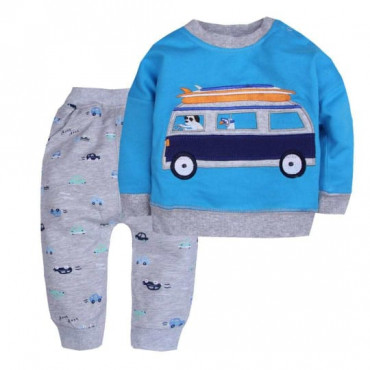 Lets Go Camping Sweatshirt and Long Pant 2 Piece set