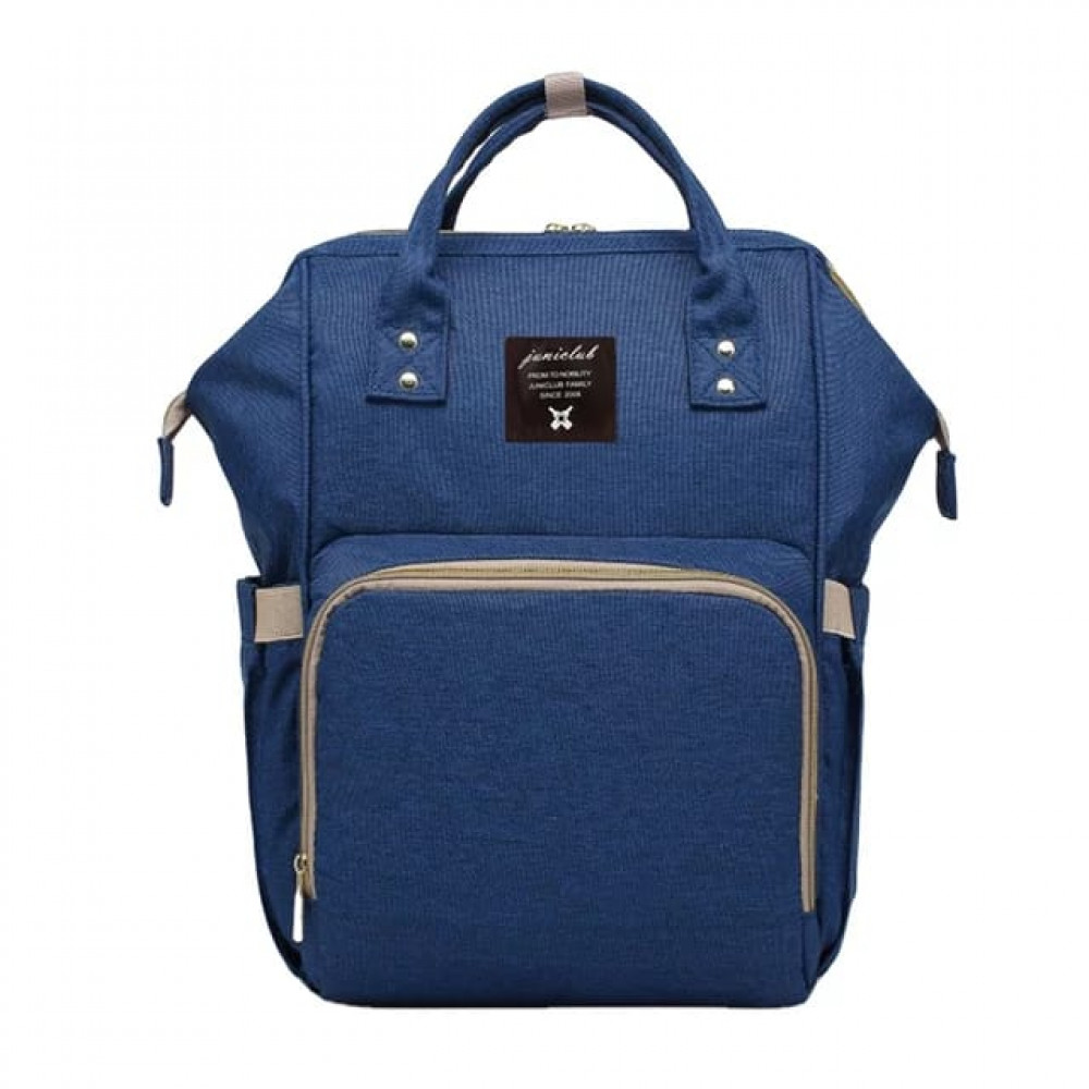 Blue Baby Nappy Diaper Backpack Bag