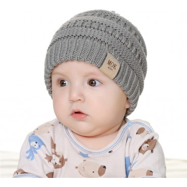 Baby and toddler knitted beanies