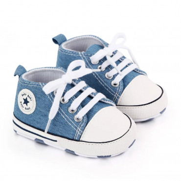 Baby Canvas Shoes Blue