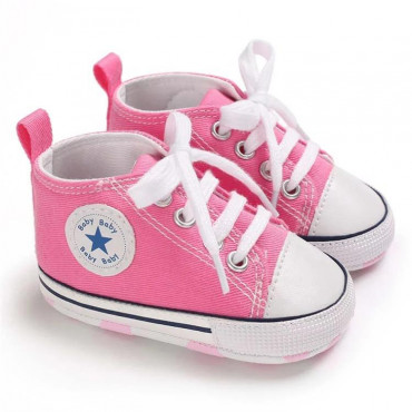 Baby Canvas Shoes Pink