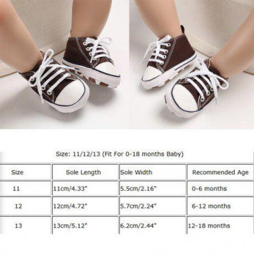 Baby Canvas Shoes Green
