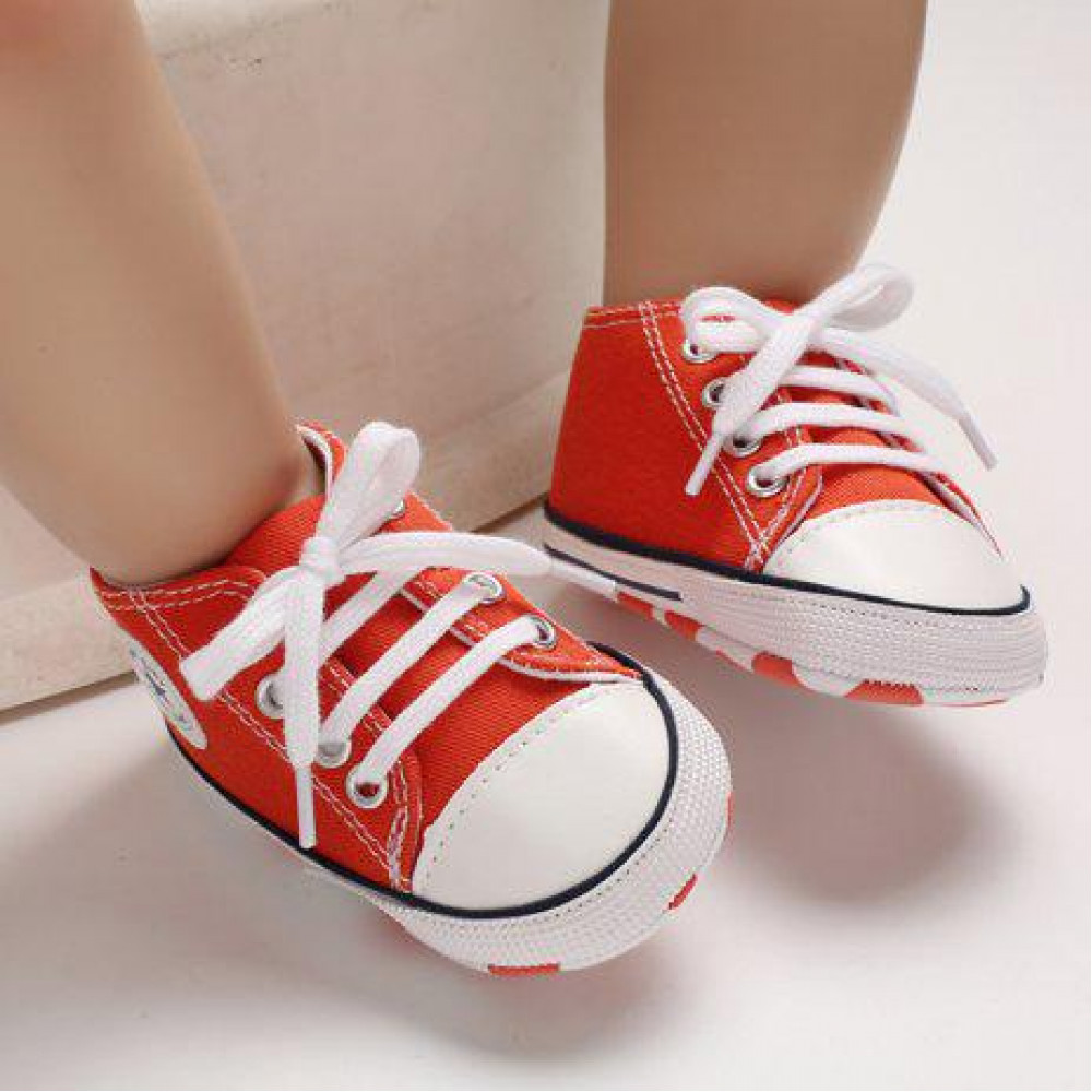 Baby Canvas Shoes Red