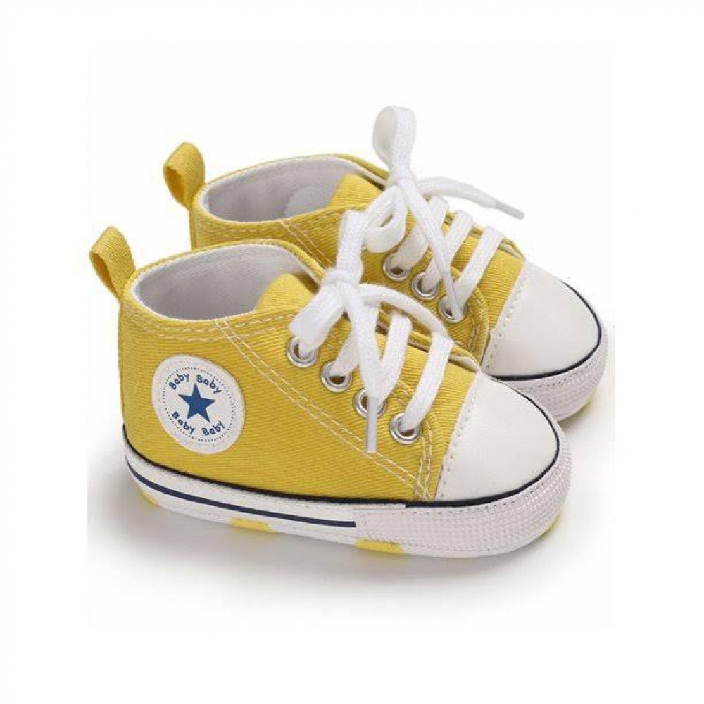 Baby Canvas Shoes Yellow
