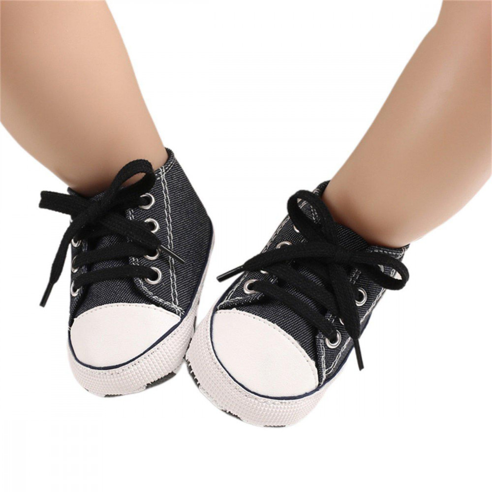 Baby Canvas Shoes Black
