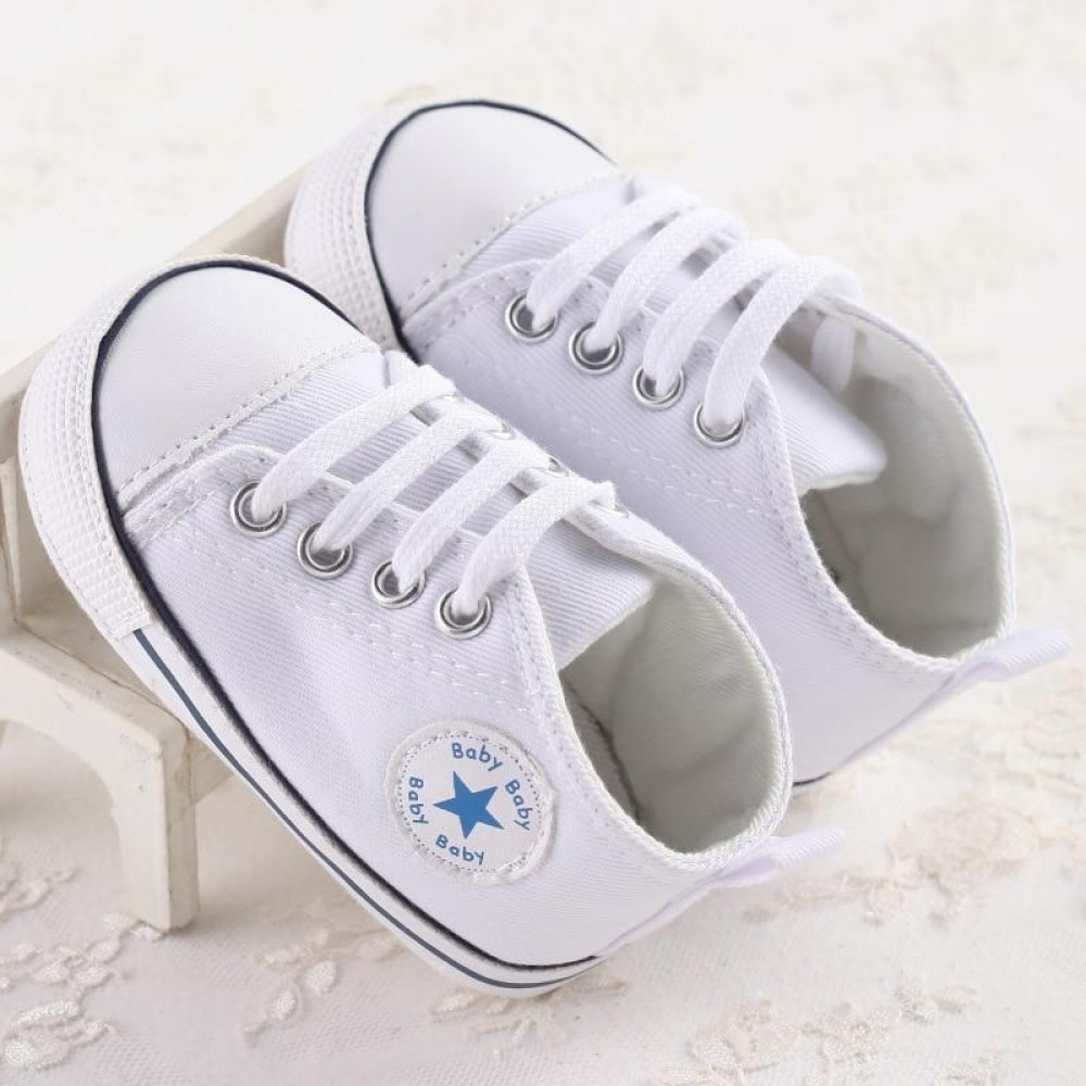Baby Canvas Shoes White